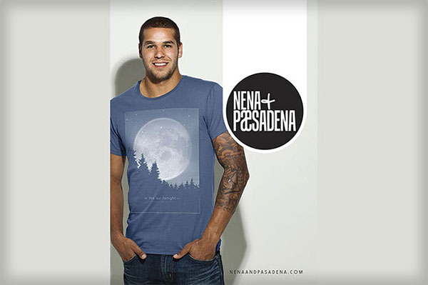 Nena and Pasadena Mens TShirt