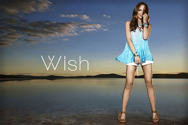 Wish - Atlantic Shorts, Clarion Top